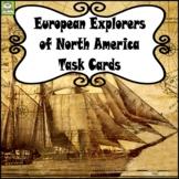 European Explorers of North America Task Cards