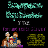 European Explorers of Texas Cootie Catcher