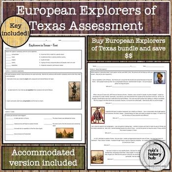 European Explorers of Texas Test