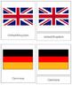 European Flags: 3-Part Cards