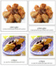 European Food: 3-Part Cards