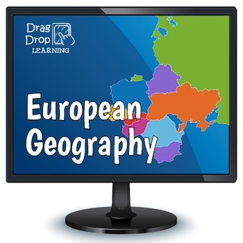 Smartboard Geography Game: Europe