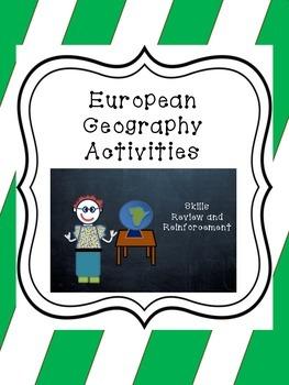 European Geography Activities