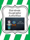 European Geography Activities