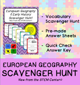 European Geography & Early History