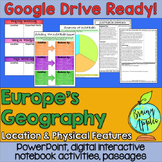European Geography Google Drive; Distance Learning