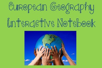 European Geography Interactive Notebook