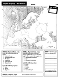 European Geography - Mapping Exercise