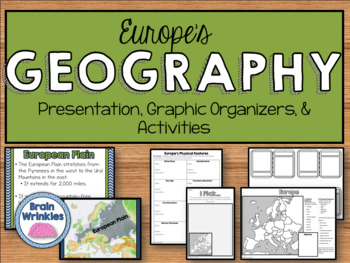 Geography of Europe: Physical Features (SS6G8)