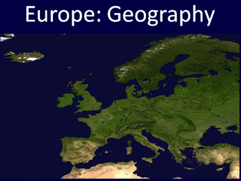 European Geography PowerPoint Europe Geography PowerPoint