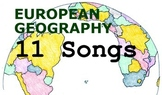 European Geography Songs - Complete Album, Lyrics, and Pla
