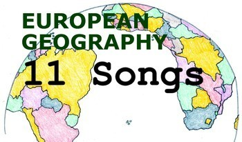 European Geography Songs - Complete Album, Lyrics, and Pla