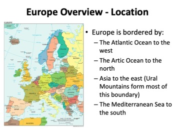 Europe Geography, History, Governments, Economies, and Cultures Presentation