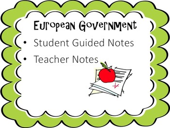 European Government Notes