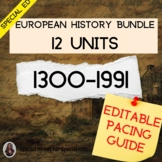 European History BUNDLE for Special Education