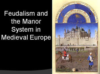 European History Feudalism PowerPoint Medieval History Middle Ages PowerPoint