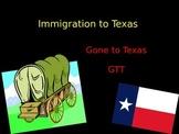 European Immigration to Texas
