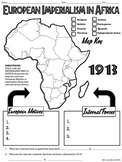 European Imperialism in Africa Map Handout