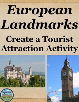 European Landmarks Activity