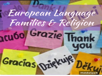 European Language Families & Religions
