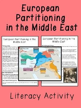 European Partitioning in the Middle East