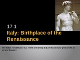 European Renaissance PowerPoint, Activators, Activities.  History 101