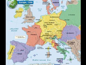 European Renaissance PowerPoint, Activators, Activities.  History 101