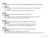 European Settlements S.S. Task Cards