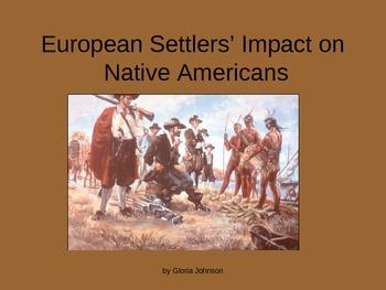 European Settlers' Impact on Native Americans