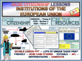 European Union EU and its institutions