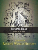 European Union, RECENT WORLD HISTORY LESSON 20/45, Reading & Memory Challenge