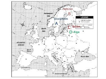 European Union capital cities