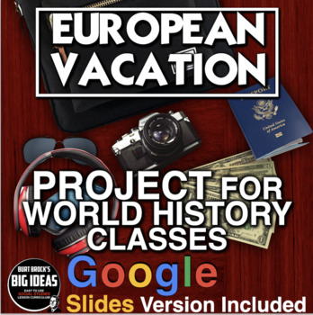 European Vacation Project - Perfect for end of the Year!