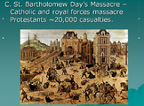 European Wars of Religion Lesson Plan: Article. Chart, and
