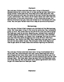 European and Native Americans (Conflict and Cooperation Sc