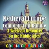 Europe's Middle Ages & Medieval Unit Bundle
