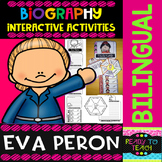 Eva Peron - Interactive Activities - Dual Language