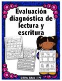 Evaluación diagnóstica de lectura y escritura para el regreso a clases