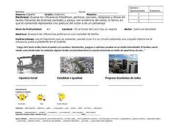 Evaluacion Alterna Educacion Especial Espanol