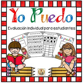 Evaluacion Individual para estudiantes - Yo Puedo en PreK