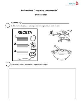 Evaluacion Intermedia en Preescolar ( Para los Tres Grados)