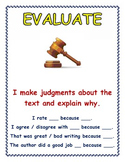 'Evaluate' Anchor Chart