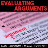 Evaluate Arguments & Claims - Bias, Audience, Persuasive Appeals