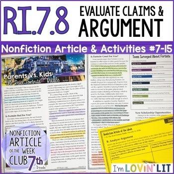Evaluate Arguments Claims Ri78 Fortnite Battle Parents Vs