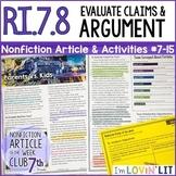Evaluate Arguments & Claims RI.7.8 | Fortnite™ Battle: Par