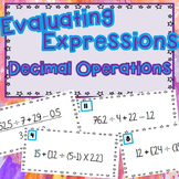 Evaluate Expressions with Decimal Operations