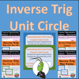 Evaluate Inverse Trig Unit Circle Degrees and Radians