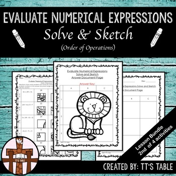 Evaluate Numeric Expressions Solve & Sketch