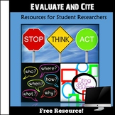 Evaluate and Cite!  Research Skills, Activities, Resources