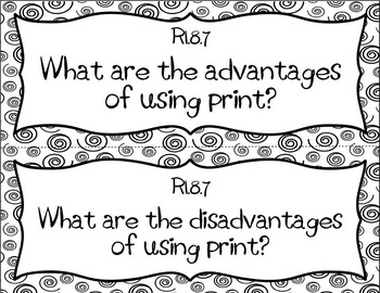 Evaluate the Advantages and Disadvantages of Using Different Mediums...